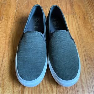 Keds Double Decker Suede Slip-On
